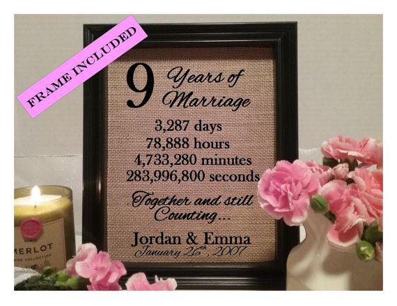 9Th Anniversary Gift Ideas  Best 25 9th wedding anniversary ideas on Pinterest