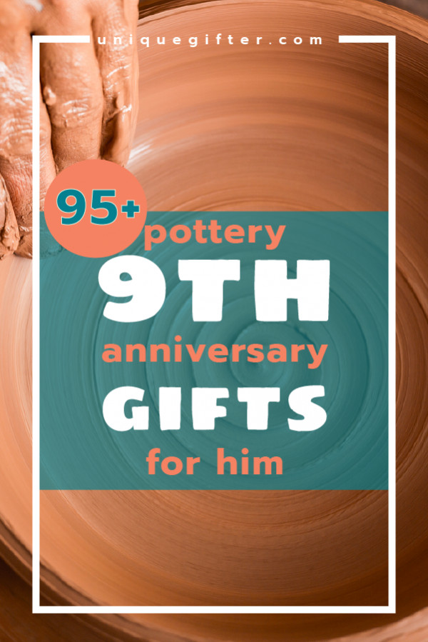 9Th Anniversary Gift Ideas  Pottery 9th Anniversary Gifts for Him