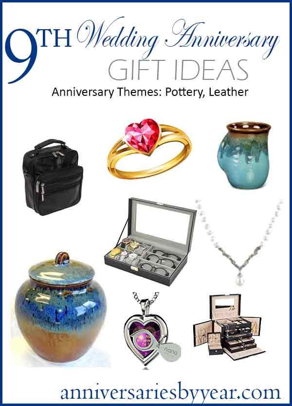 9Th Anniversary Gift Ideas  9th Anniversary Ninth Wedding Anniversary Gift Ideas