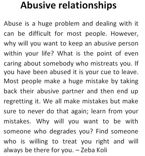 Abusive Relationship Quotes  Inspirational Quotes About Abusive Relationships QuotesGram