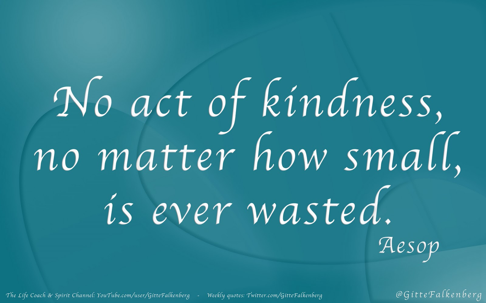 Acts Of Kindness Quotes  Encountering kindness