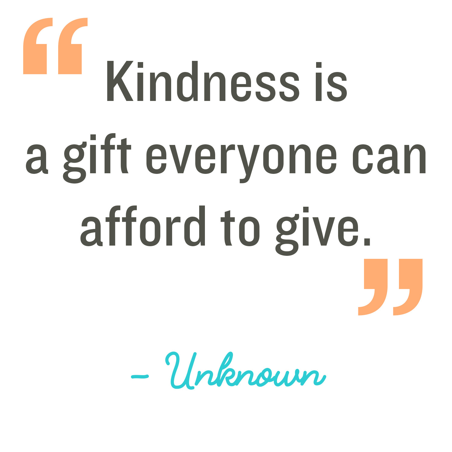 Acts Of Kindness Quotes  Random Acts of Kindness Kindness Quote