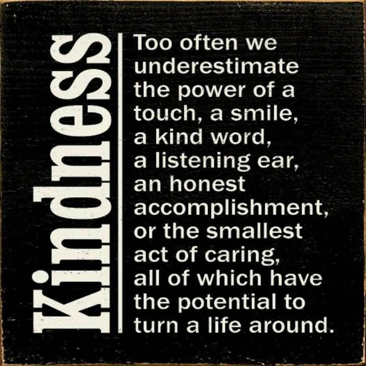 Acts Of Kindness Quotes  71 Kindness Quotes Sayings About Being Kind