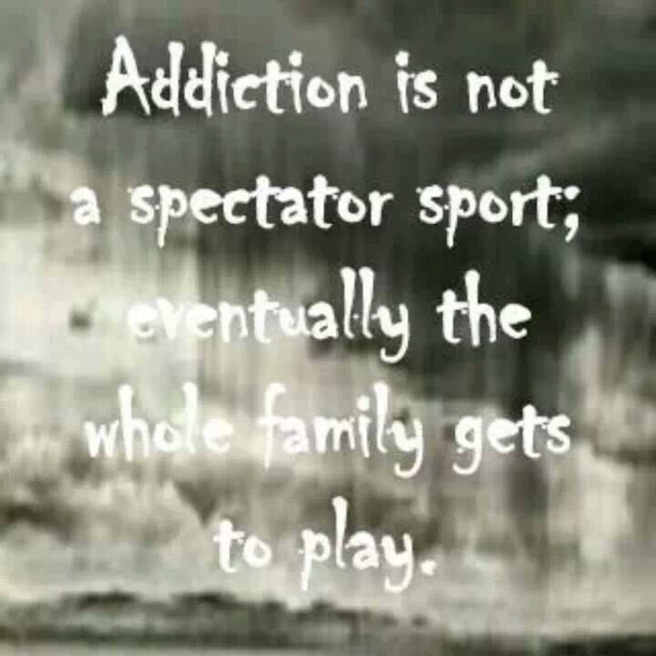 Addiction Quotes For Family  1000 images about Addiction Enablers No tolerance for