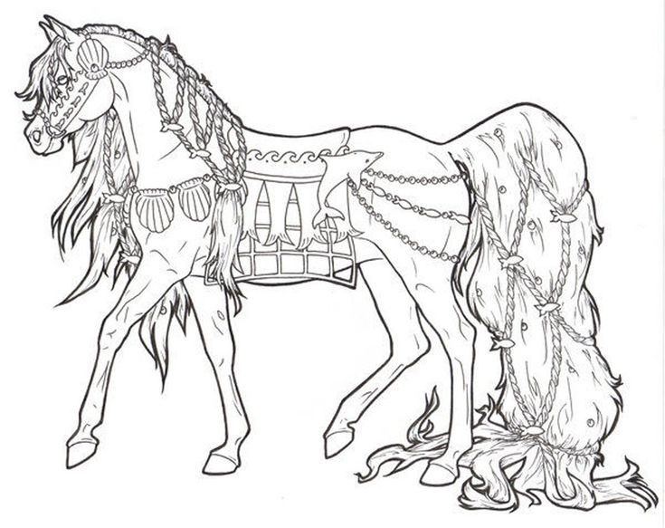 Adult Coloring Pages Horses  Free Printable Horse Coloring Pages For Adults