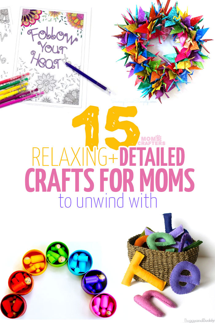 Adult Craft Projects  Relaxing Crafts for Adults
