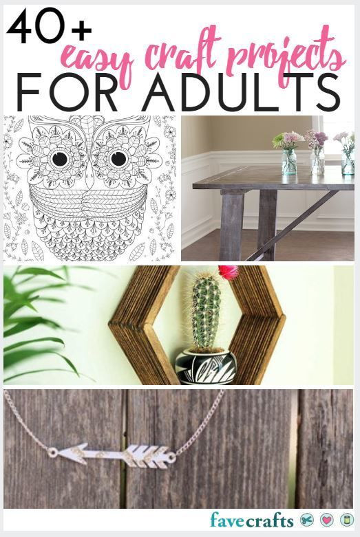 Adult Craft Projects  The 372 best images about New Craft Ideas on Pinterest