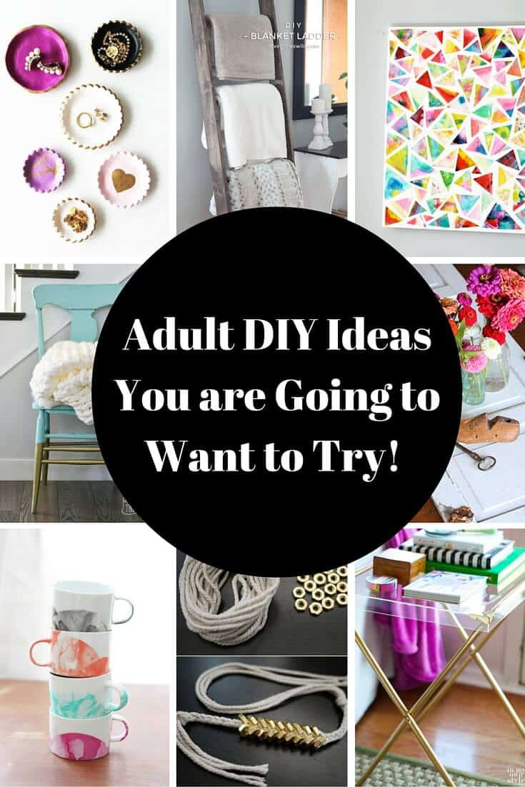 Adult Craft Projects  Adult DIY Projects I Want to Try Princess Pinky Girl