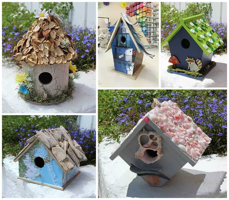Adult Craft Projects  Birdhouse Crafts 5 ways to create a birdhouse you will love