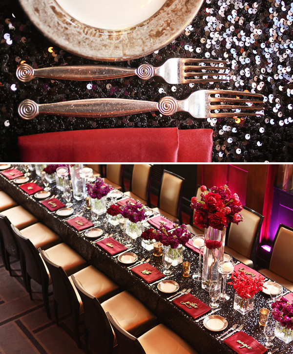 Adult Dinner Party Ideas  Dramatic & Glamorous Dinner Party 30th Birthday