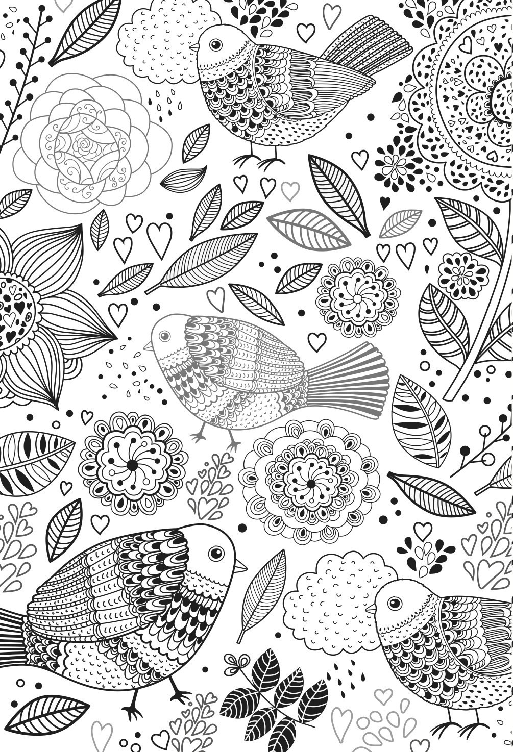 Adult Stress Coloring Books  Colouring Books for Adults In The Playroom