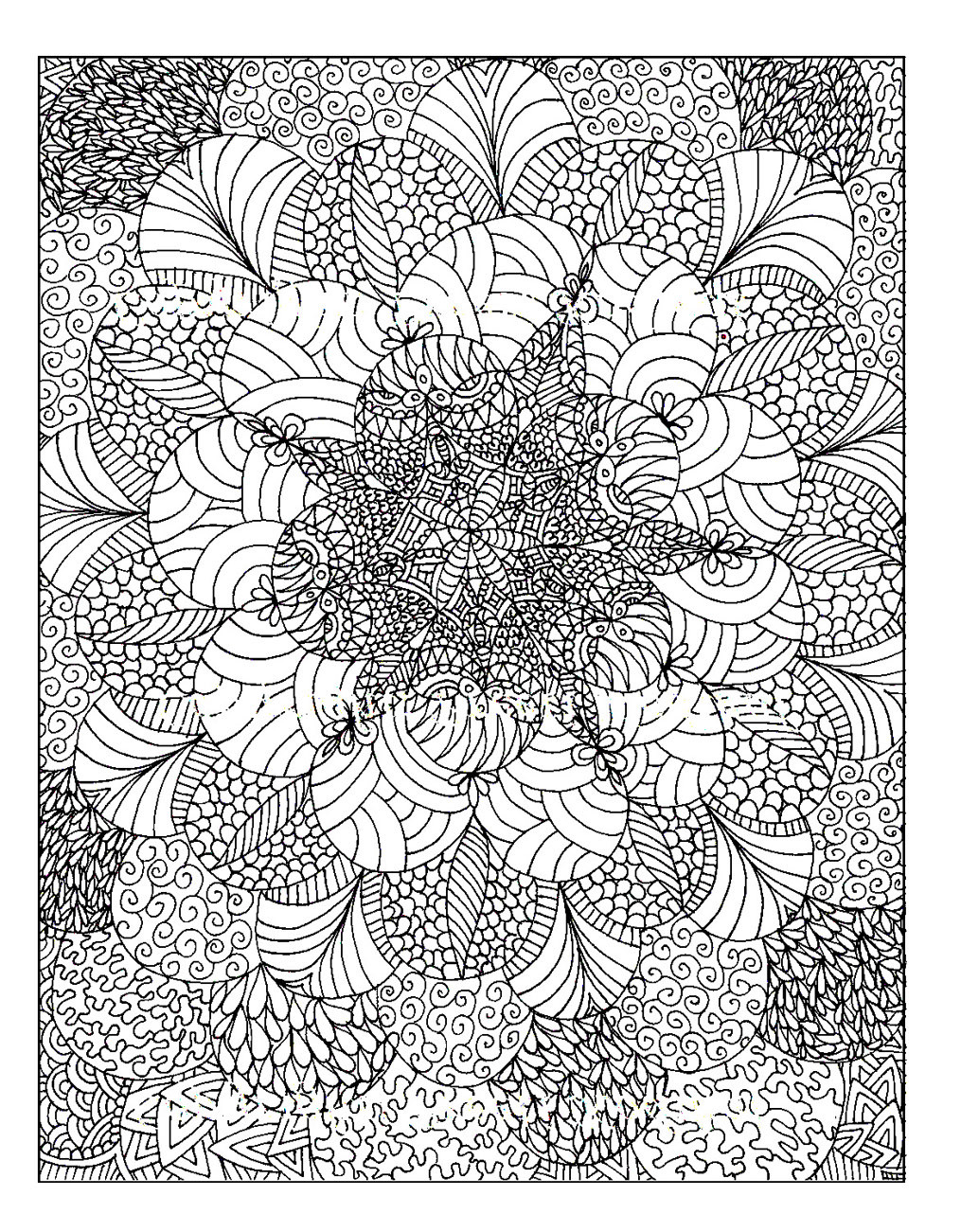 Adult Stress Coloring Books  Colouring for Adults Anti Stress Colouring Printables