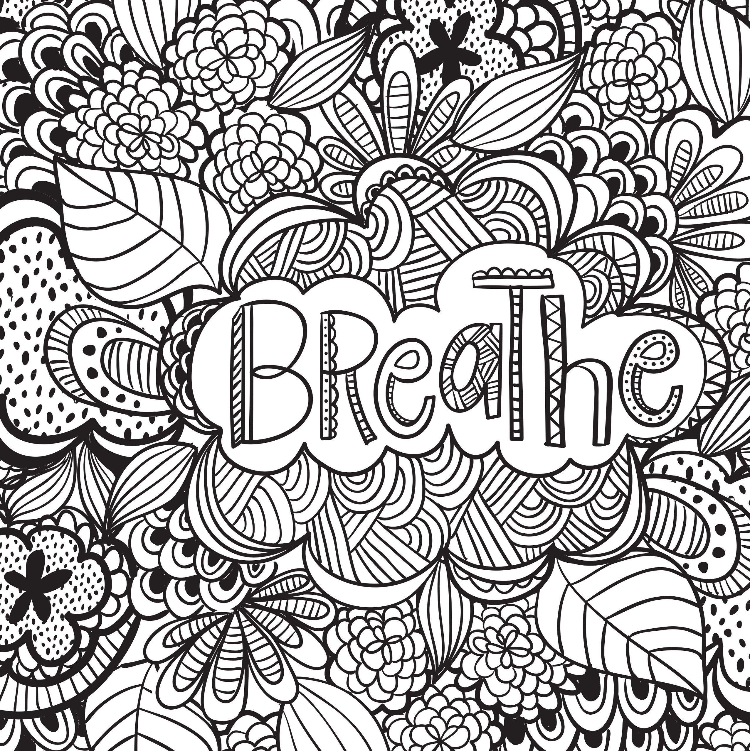 Adult Stress Coloring Books  Joyful Inspiration Adult Coloring Book 31 stress