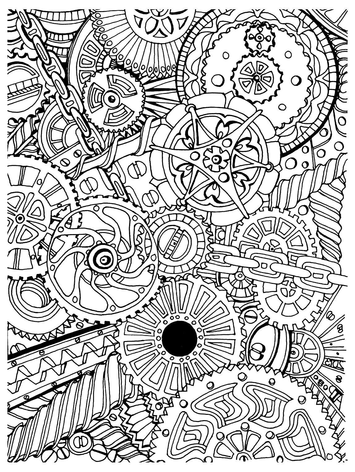 Adult Stress Coloring Books  To print this free coloring page coloring adult zen anti