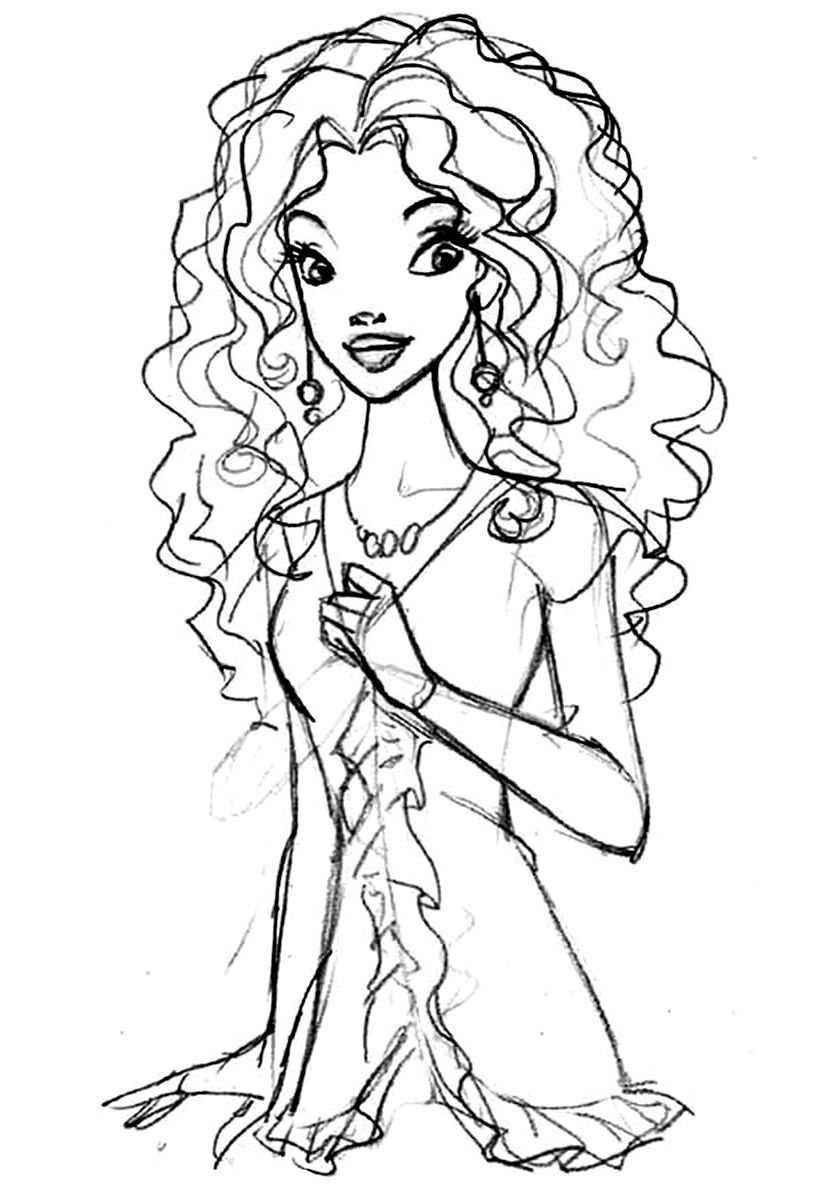 African American Girl Coloring Pages  African American Coloring Pages For Kids AZ Coloring Pages