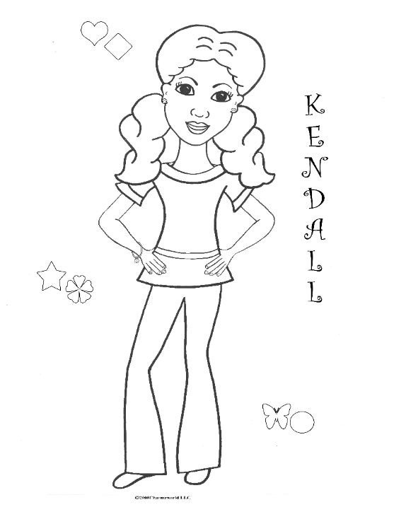 African American Girl Coloring Pages  Coloring Pages For African American Girls Charmz Girl