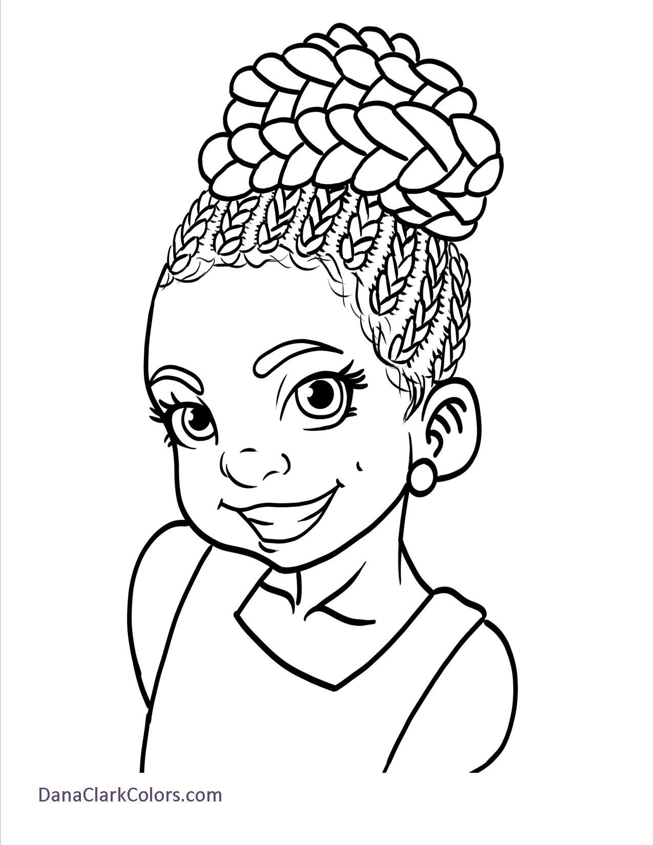 African American Girl Coloring Pages  Free African American Children s Coloring Pages