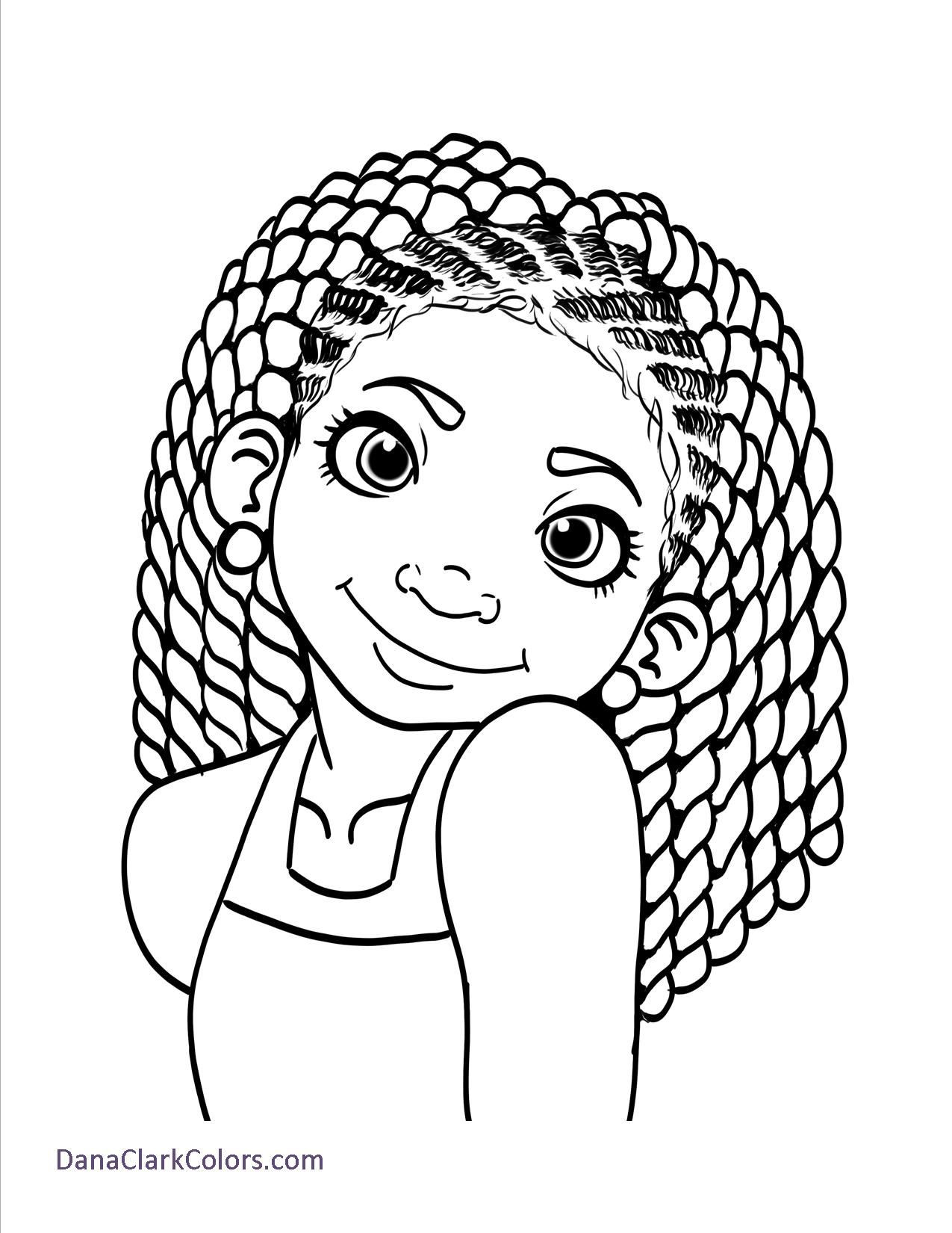 African American Girl Coloring Pages  Free Coloring Page 1 School