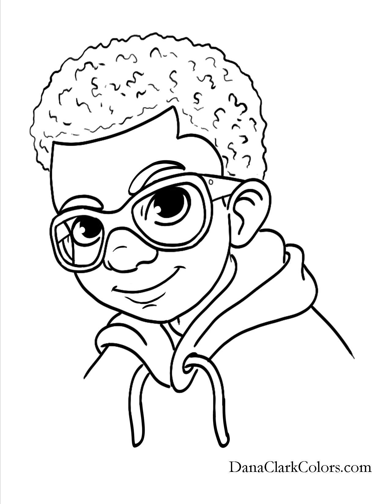 African American Girl Coloring Pages  African American Black African boys and girls of color
