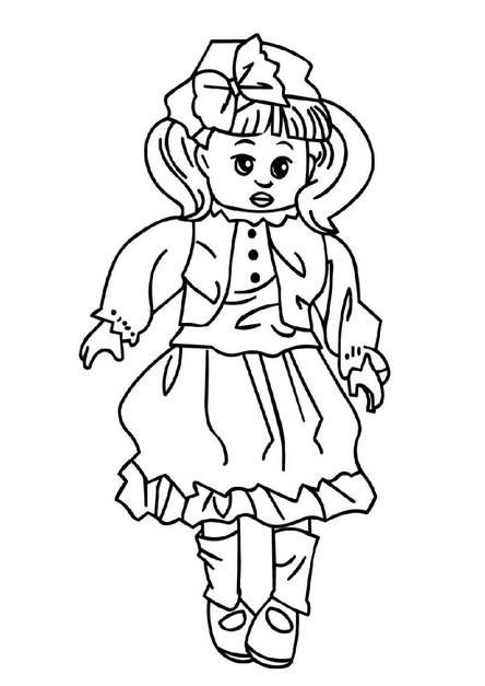 American Girl Lea Coloring Pages  Amazing American Girl Doll Coloring Pages Lea With