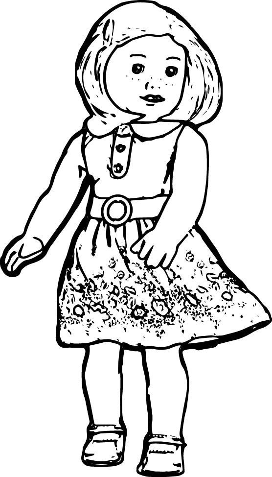 American Girl Lea Coloring Pages  American Girl Coloring Pages Kit at GetColorings