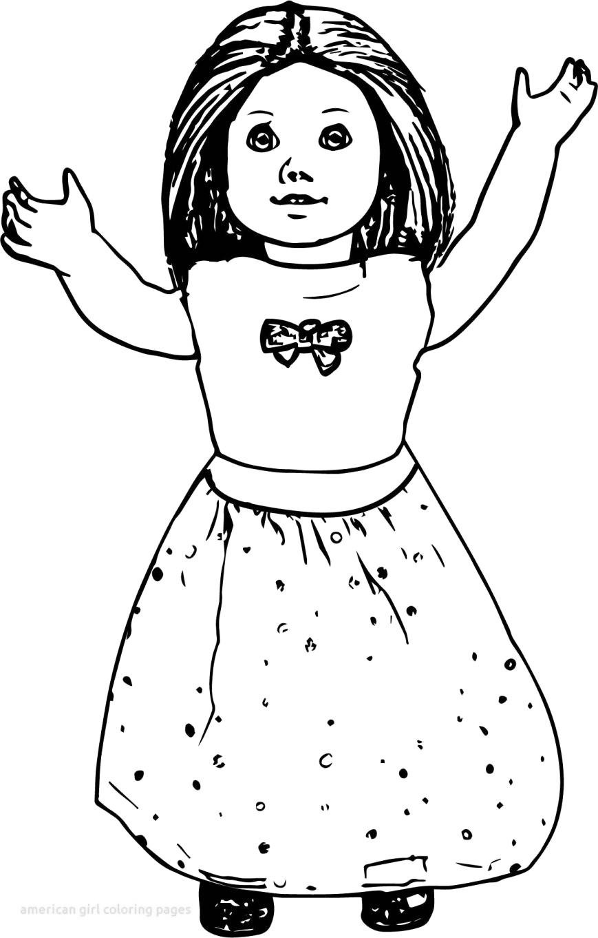 American Girl Lea Coloring Pages  American Girl Lea Clark Coloring Pages Lineart Free