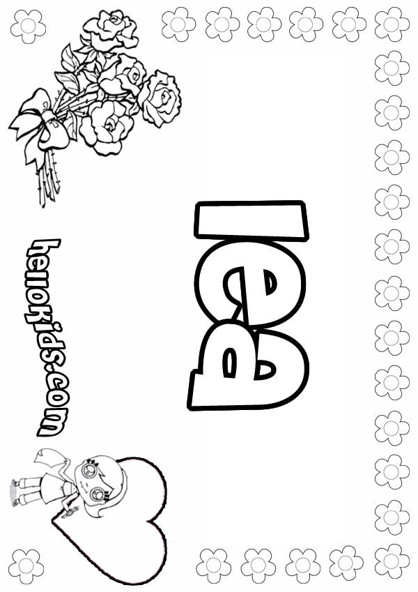 American Girl Lea Coloring Pages  Lea coloring pages Hellokids