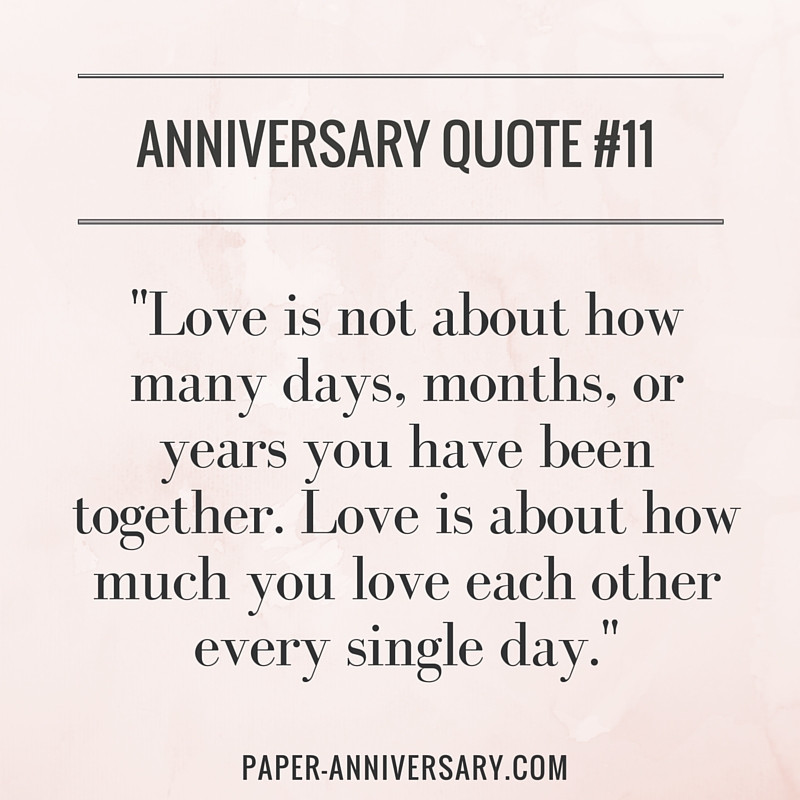 Anniversary Love Quotes  20 Perfect Anniversary Quotes for Him Paper Anniversary