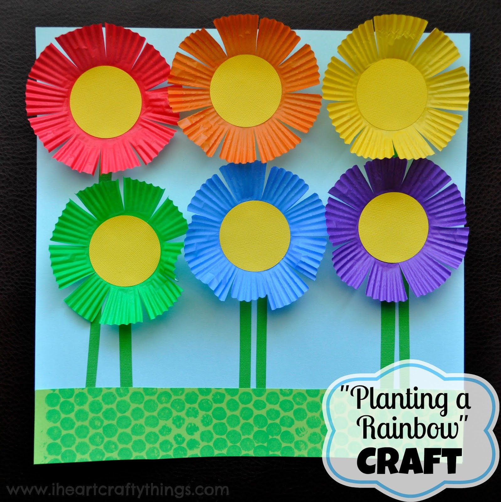 Arts And Crafts For Preschoolers  30 Flower Crafts for Kids