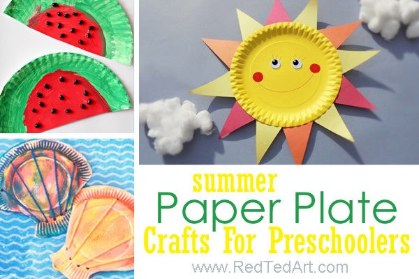 Arts And Crafts For Preschoolers  47 Summer Crafts for Preschoolers to Make this Summer