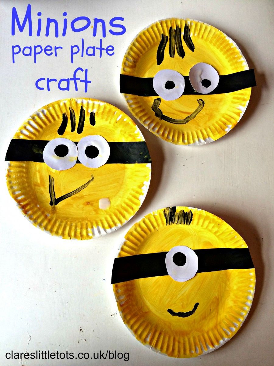 Arts And Crafts For Preschoolers  Minions Craft