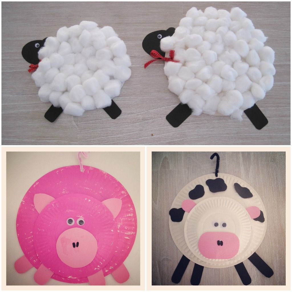 Arts And Crafts For Preschoolers  preschool farm animal art