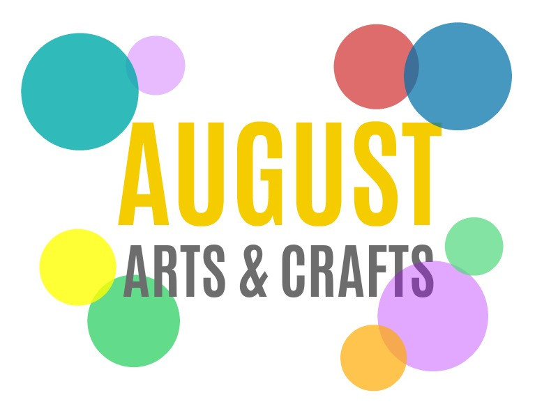 August Crafts For Toddlers  Seasonal Arts and Crafts for the Month of August August s