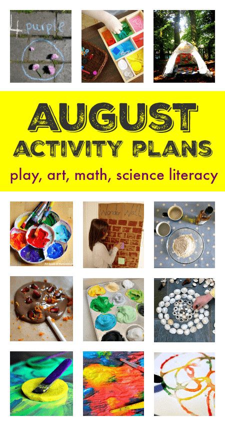 August Crafts For Toddlers  August activity plans things to do in August with kids