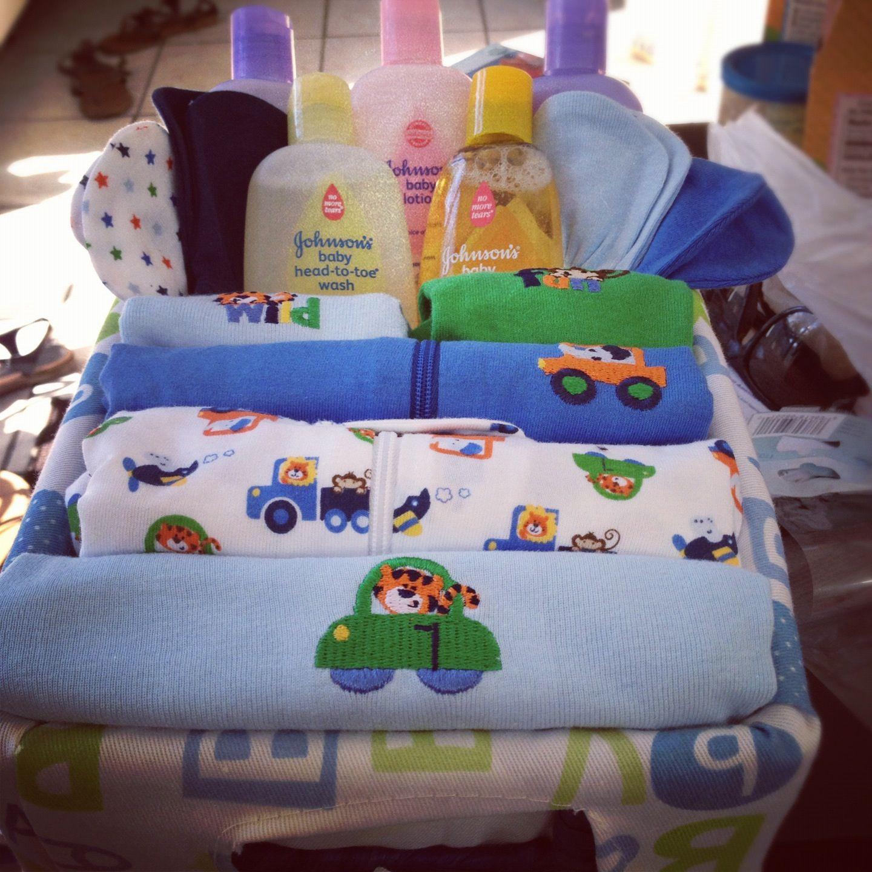 Baby Boy Gift Basket Ideas  Baby shower DIY t basket boy t ideas