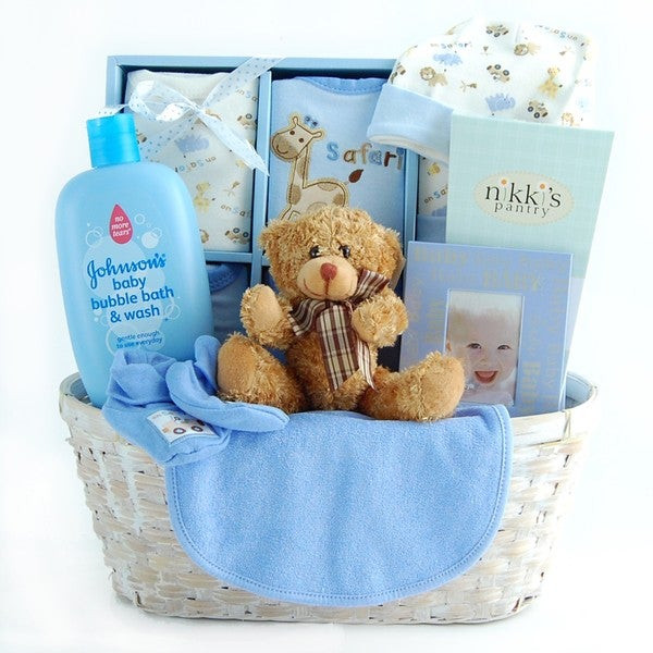 Baby Boy Gift Basket Ideas  Shop New Arrival Baby Boy Gift Basket Free Shipping