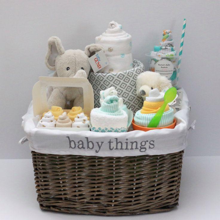 Baby Boy Gift Basket Ideas  25 best ideas about Baby t baskets on Pinterest