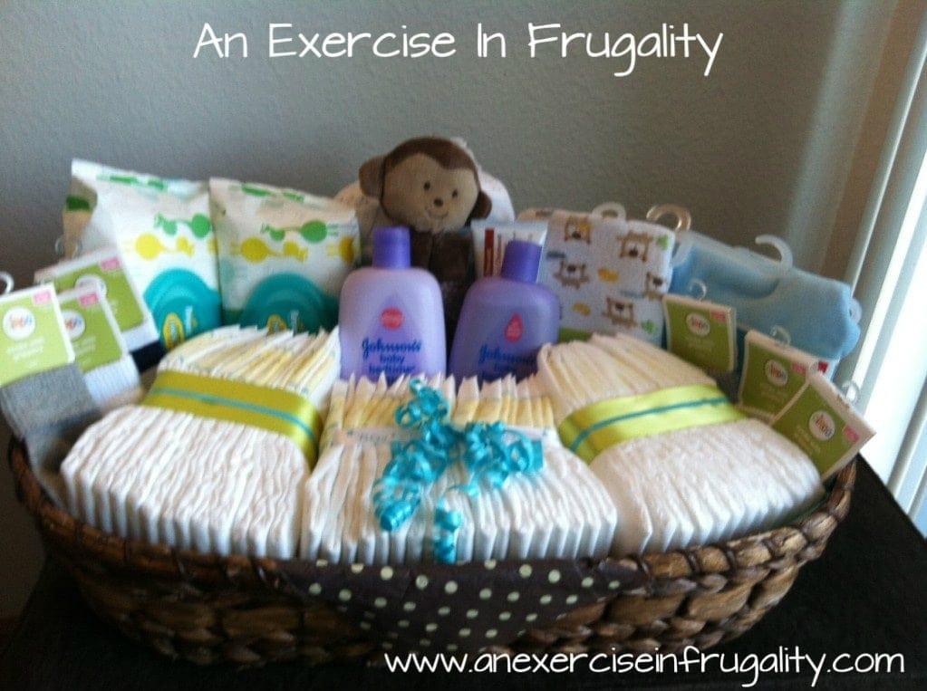 Baby Boy Gift Basket Ideas  Baby Shower Basket Gift Idea