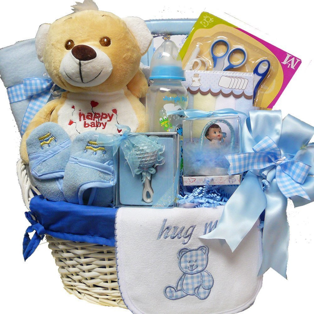 Baby Boy Gift Basket Ideas  Gift Baskets For New Baby They Really Make A Wonderful