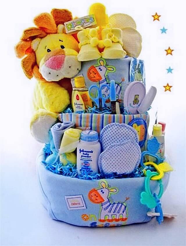 Baby Boy Gift Basket Ideas  Ideas to Make Baby Shower Gift Basket