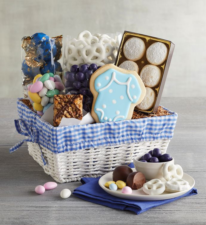 Baby Boy Gift Basket Ideas  Congratulations New Baby Boy Business Gifts