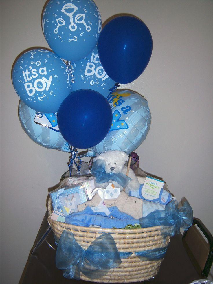 Baby Boy Gift Basket Ideas  Best 25 Baby boy t baskets ideas on Pinterest