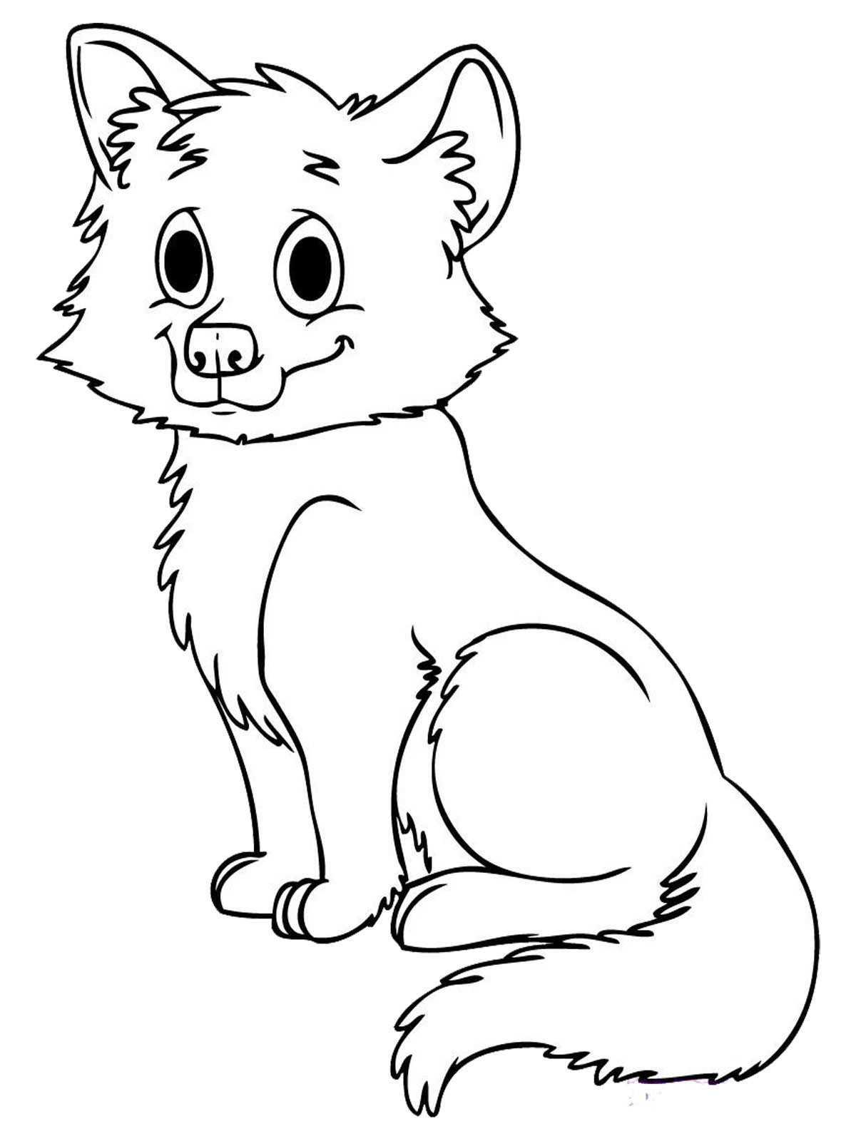 Baby Coloring Pages For Kids  Baby Animal Coloring Pages