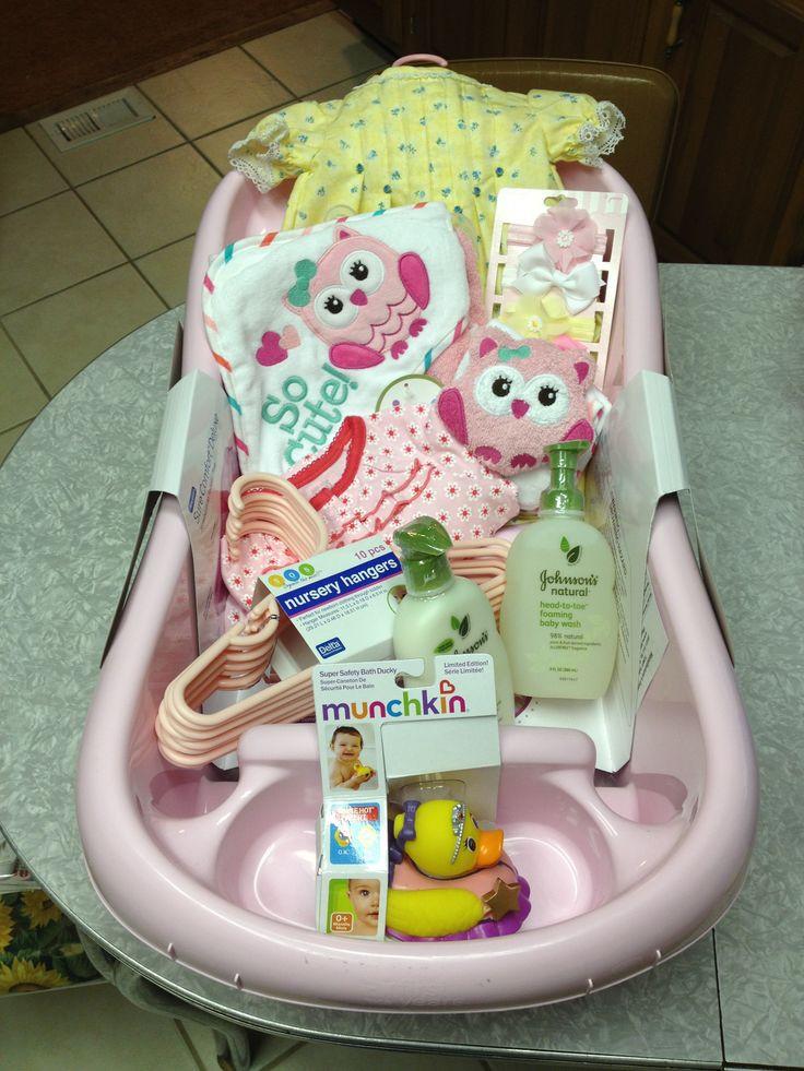 Baby Gift Basket Ideas  Best 25 Baby girl t baskets ideas on Pinterest