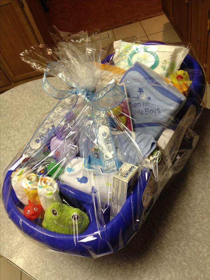 Baby Gift Basket Ideas  Best 25 Baby t baskets ideas on Pinterest