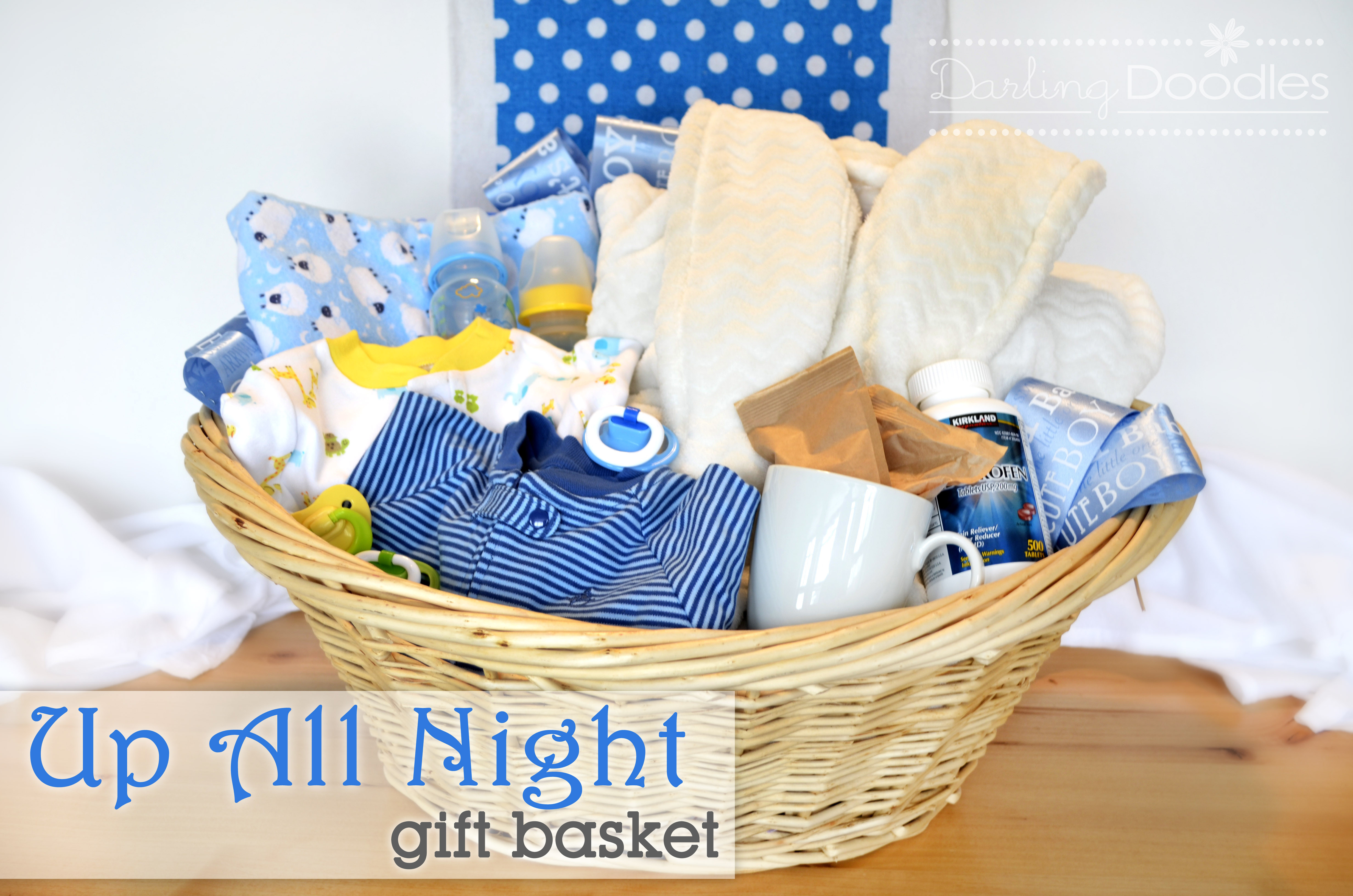 Baby Gift Basket Ideas  Baby Shower Gift Baskets For Boy • Baby Showers Ideas