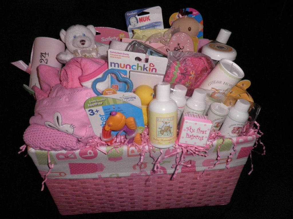 Baby Gift Basket Ideas  Homemade Baby Shower Gift Baskets Ideas Baby Wall