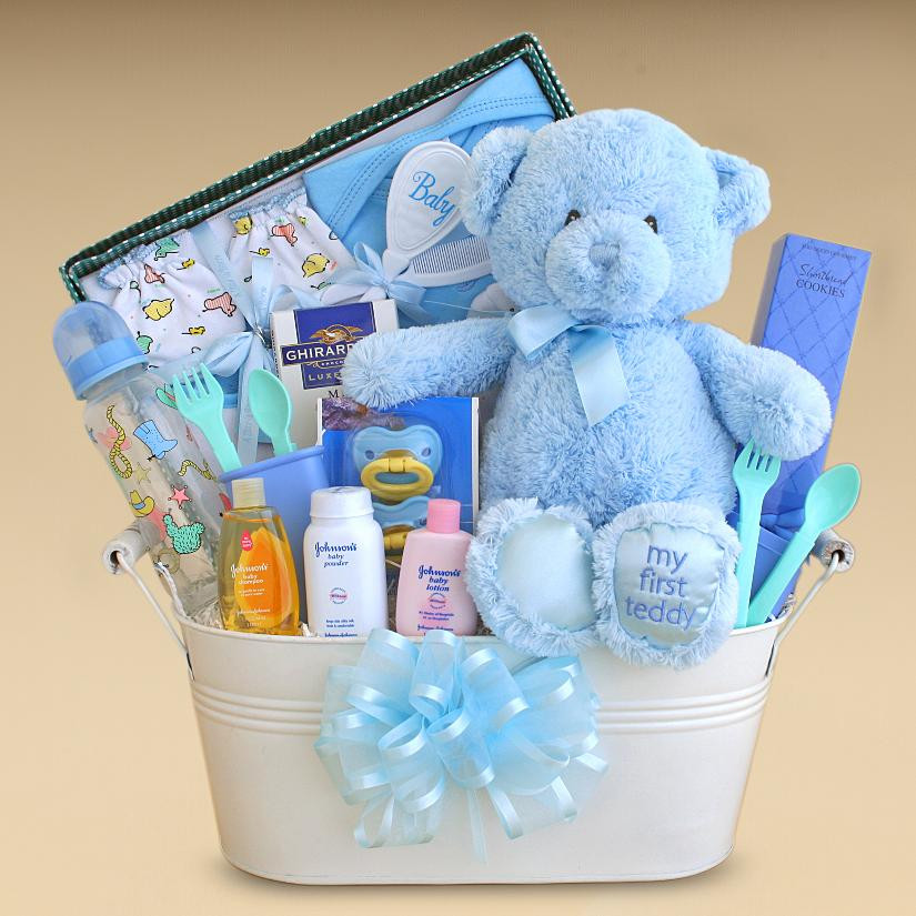 Baby Gift Basket Ideas  Gift Baskets Created Baby Boy Gift Basket