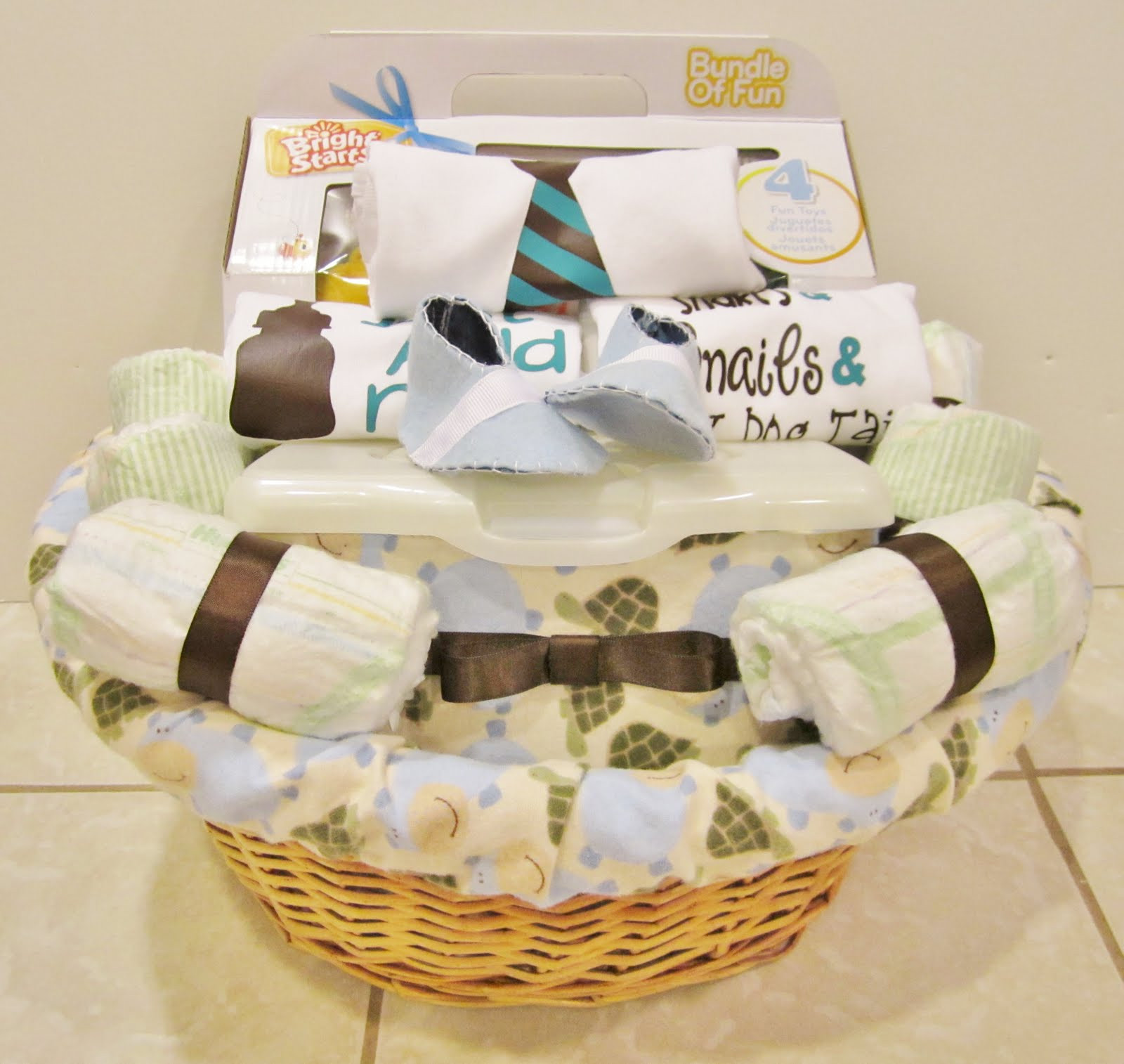 Baby Gift Basket Ideas  Life in the Motherhood Baby Shower Gift Basket For a
