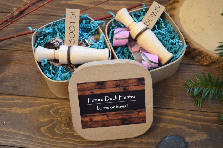 Baby Reveal Gift Ideas  Hunting Gender Reveal Party Prop Gift & Keepsake Hunting
